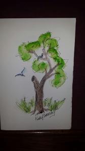 8 2014 bird with tree hole