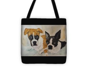 Totes come in many colors and several sizes.